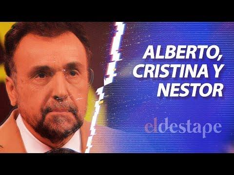 Alberto, Cristina y Néstor | El Destape de Roberto Navarro en vivo