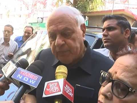 Farooq Abdullah on India Pakistan relations
