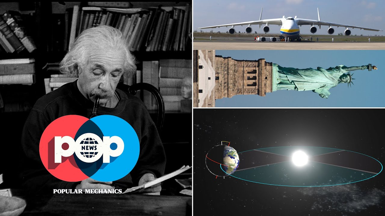 Racing marbles, Zoombots, Einstein and the AN-225 | POP News