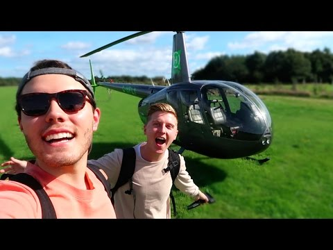 CRAZY HELICOPTER FAMILY HOLIDAY
