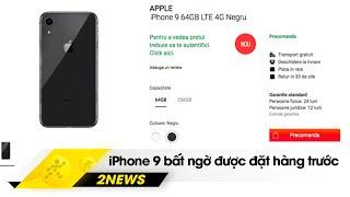 iPhone 9 bất ngờ được đặt trước, điện thoại có camera 192 MP? | Hinews