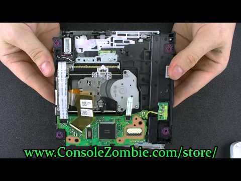 Wii U Opening and Drive Disassembly Reassembly Teardown Tutorial - ConsoleZombie