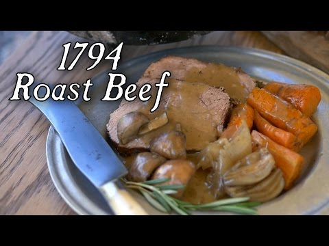 Delicious 1794 Roast Beef! - Dutch Oven Cooking