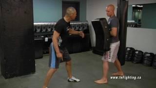 Kickboxing Basics: How to Train the Knee Strike on a Kicking Shield