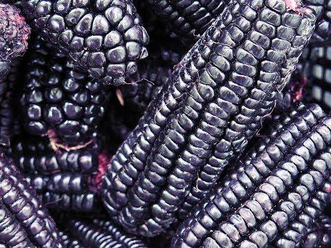 Peruvian purple corn drink