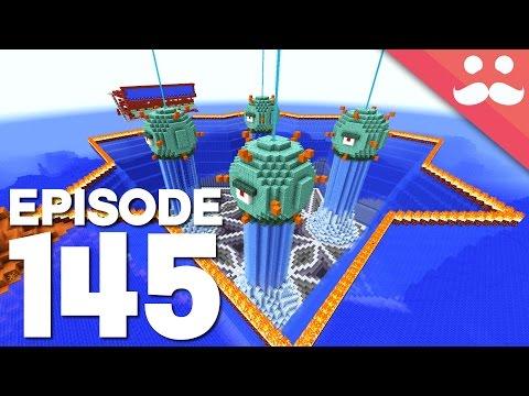 Hermitcraft 4: Episode 145 - Giant Redstone Gift!