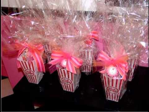 Creative birthday party favor ideas