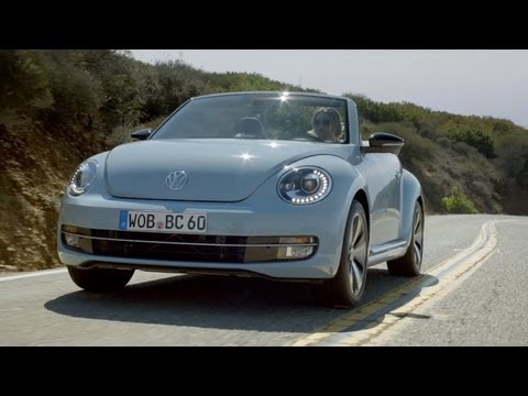 2013 VW Beetle Convertible '60s edition [HD]