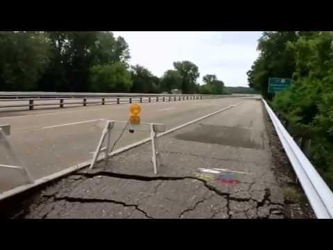 Veterans Memorial Parkway Road Repairs May 16, 2013