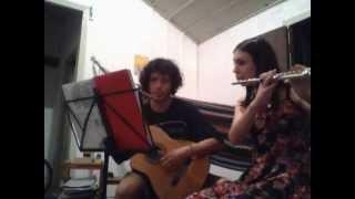 De bem com a vida - Luiz Pardal - Ensaio violão e flauta transversal (2014)