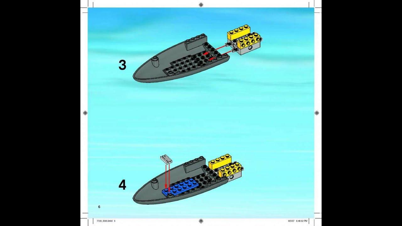 схема инструкция голодный аллигатор lego duplo