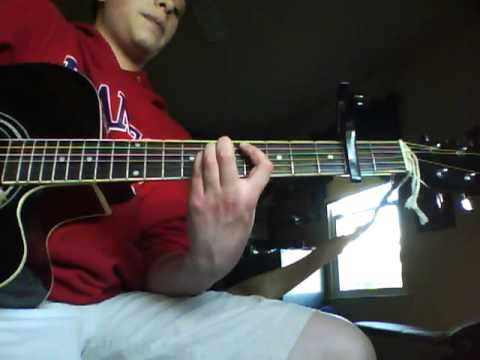 Relient K Up Up Acoustic Guitar Tutorial Youtube