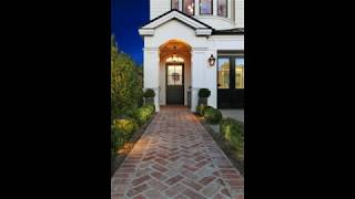 Unique Brick Walkway Ideas For Beautiful Home, Hardscape Path Design Ideas For Beautiful Home #7
