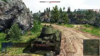 "WarThunder - Tanks ""ultra setting"" CBT"