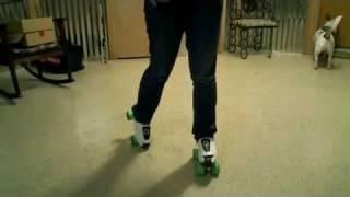 Видео-урок Crazy Leg (popping)