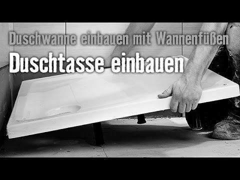 Version 2015 Duschwanne einbauen mit Wannenfüßen - Kapitel 2 ...   {Duschwanne einmauern 50}
