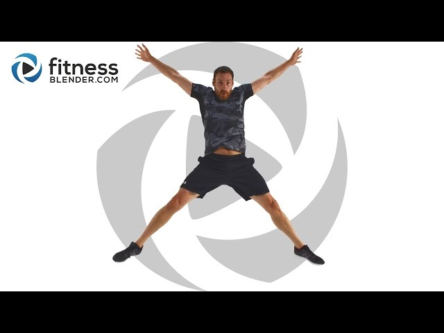 15 Minute HIIT Workout - No Equipment HIIT Cardio At Home
