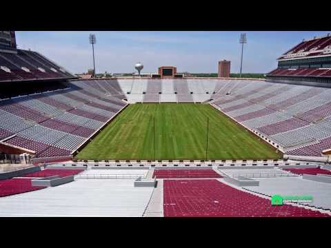 University of Oklahoma Football and Soccer Stadium Turf Renovation 2014 Carolina Green Corp.