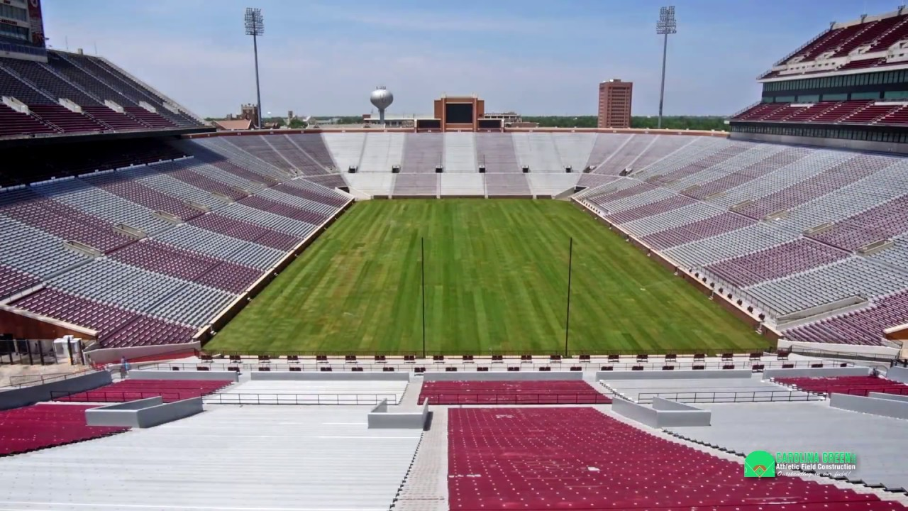 University of Oklahoma Football and Soccer Stadium Turf ...