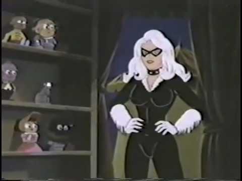 Black Cat Spectacular Spider Man Tv