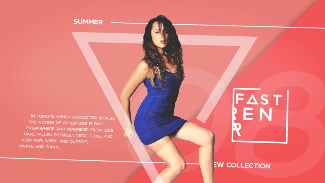 fashion promo after effects template free download