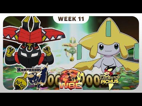 THE FINAL GAME | St. Louis Rampardos VS Pittsburgh Pichus WBE W11  | Pokemon Sun Moon