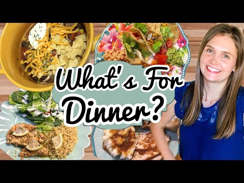 WHAT'S FOR DINNER? | 5 Tasty & Simple Weekly Menu Items | Cook With Me! -Julia Pacheco