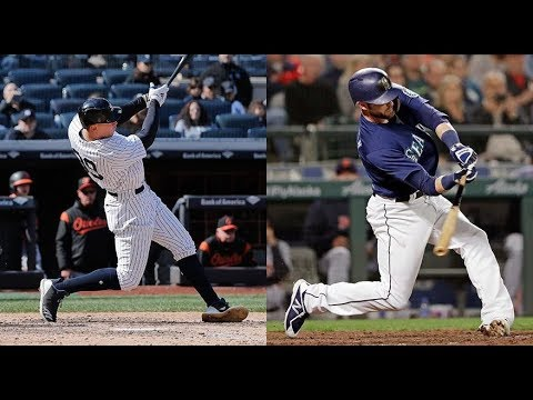 Seattle Mariners vs New York Yankees Highlights || June 19, 2018