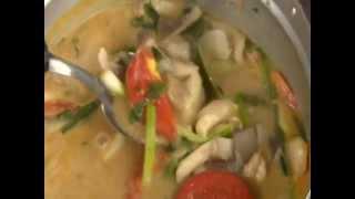 Thai Spicy Soup With Prawns  Tom Yum Goong ต้มยำกุ้ง