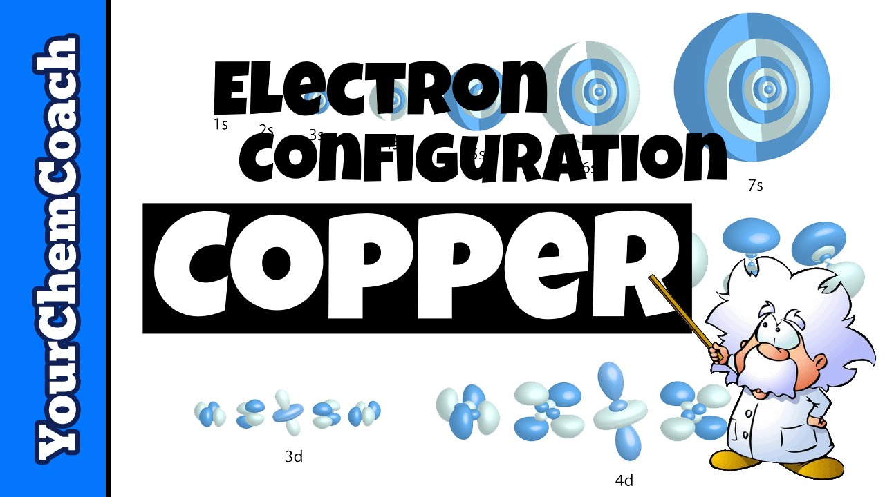 How To Write The Electron Configuration For Copper Youtube
