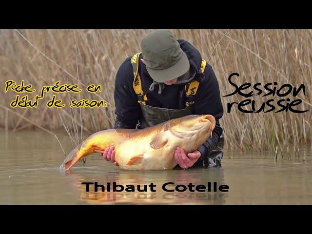 Pêche Précise en début de saison ... avec Thibaut Cotelle
