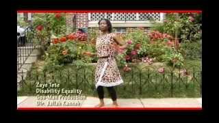 Zaye Tete: Disability Equality Advocate