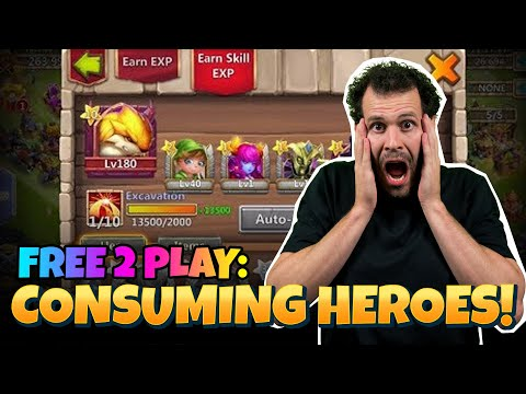 JT's F2P Consuming Heroes Castle Clash