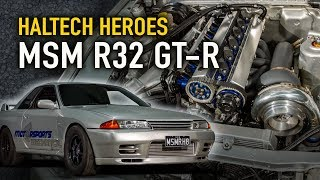 Motor Sports Mechanical 1100hp, 8-sec R32 GTR - Haltech Heroes