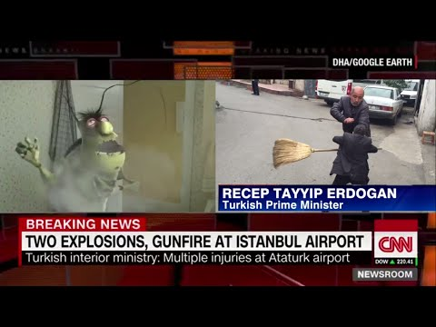 Exclusive Footage: Istanbul Airport Terror Attack!
