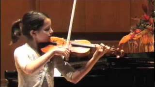 Abigel Kralik Plays Mozart KV 211 D-major Violin Concerto, 1st movement