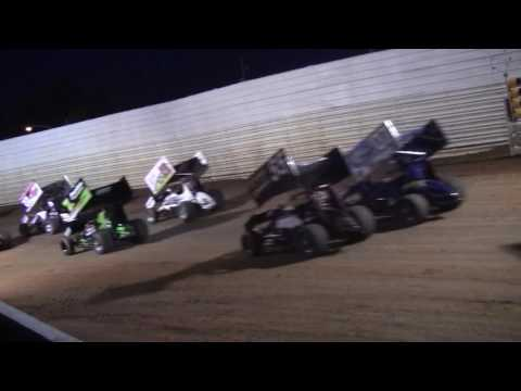 Port Royal Speedway 410 Sprint Car Highlights 8-27-16