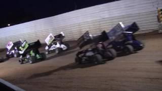 Port Royal Speedway 410 Sprint Car Highlights