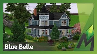 The Sims 3 House Building - Blue Belle