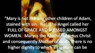 """A Protestant boy and The""""Hail Mary"""". (A story)"""