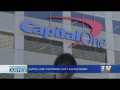 Capital One Customers Unable To Withdraw Money
