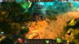 видео Новая браузерная бесплатная онлайн игра Drakensang Online, обзор