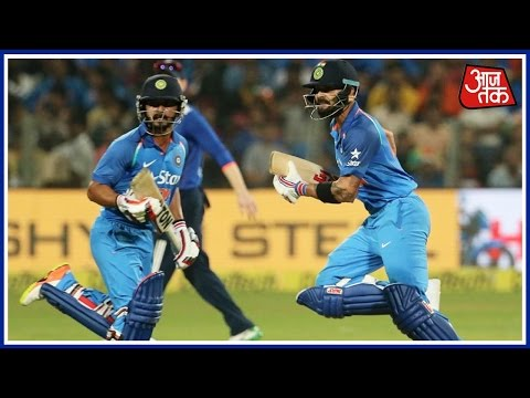 Virat Kohli And Kedar Jadhav Lead Stunning Chase In India Vs England Match