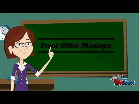 Introduction to Front Office