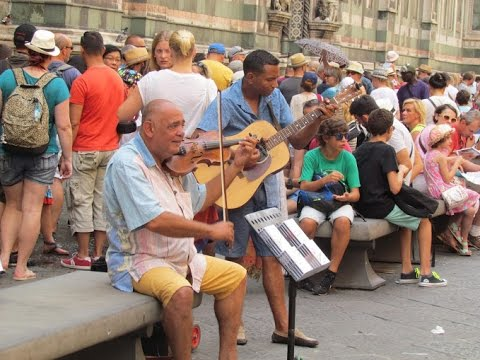 Lovely Street Music, Florence-Italy 2015