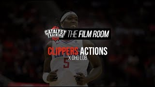 X DHO Lob || Clippers Actions