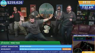 https://www.desertbus.org/ Dance Party time all the time! Thanks Pa...