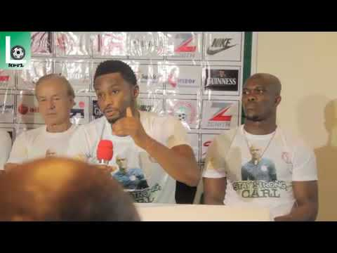 Pre-match press conference: Nigeria v Cameroon