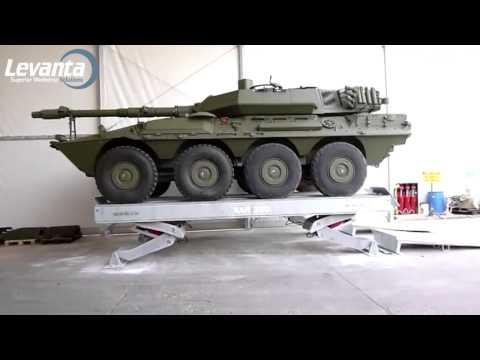 Super Heavy Duty Vehicle Lifting Hoist | Levanta