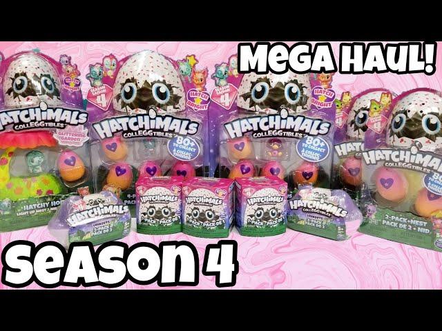 Hatchimals Colleggtibles Season 4 Mega Haul